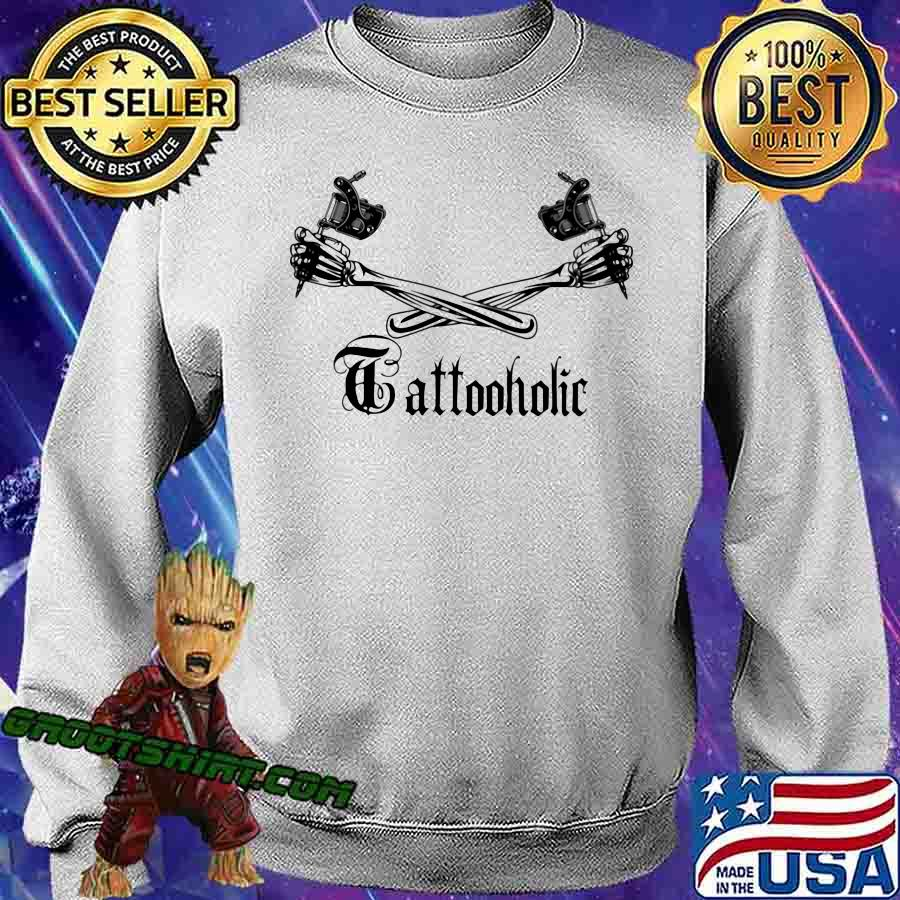 Tattoo Holic Art Bone Arm Shirt Sweatshirt