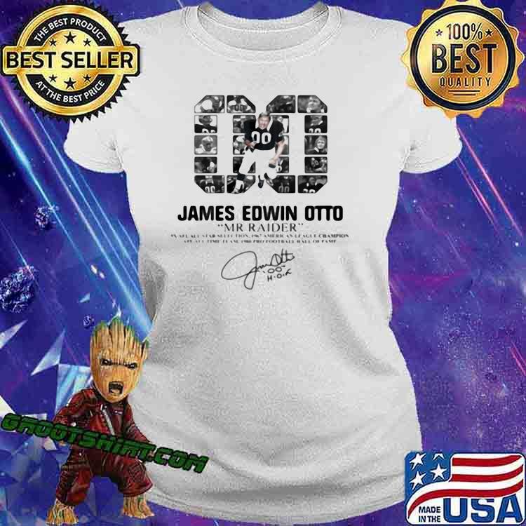 00 James Edwin Otto Mr Raider Signature Shirt Ladiestee