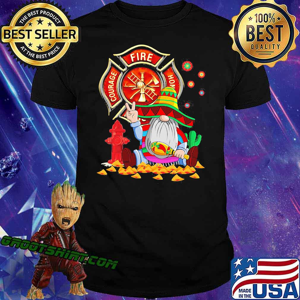 Courage Fire Home Drawf Shirt
