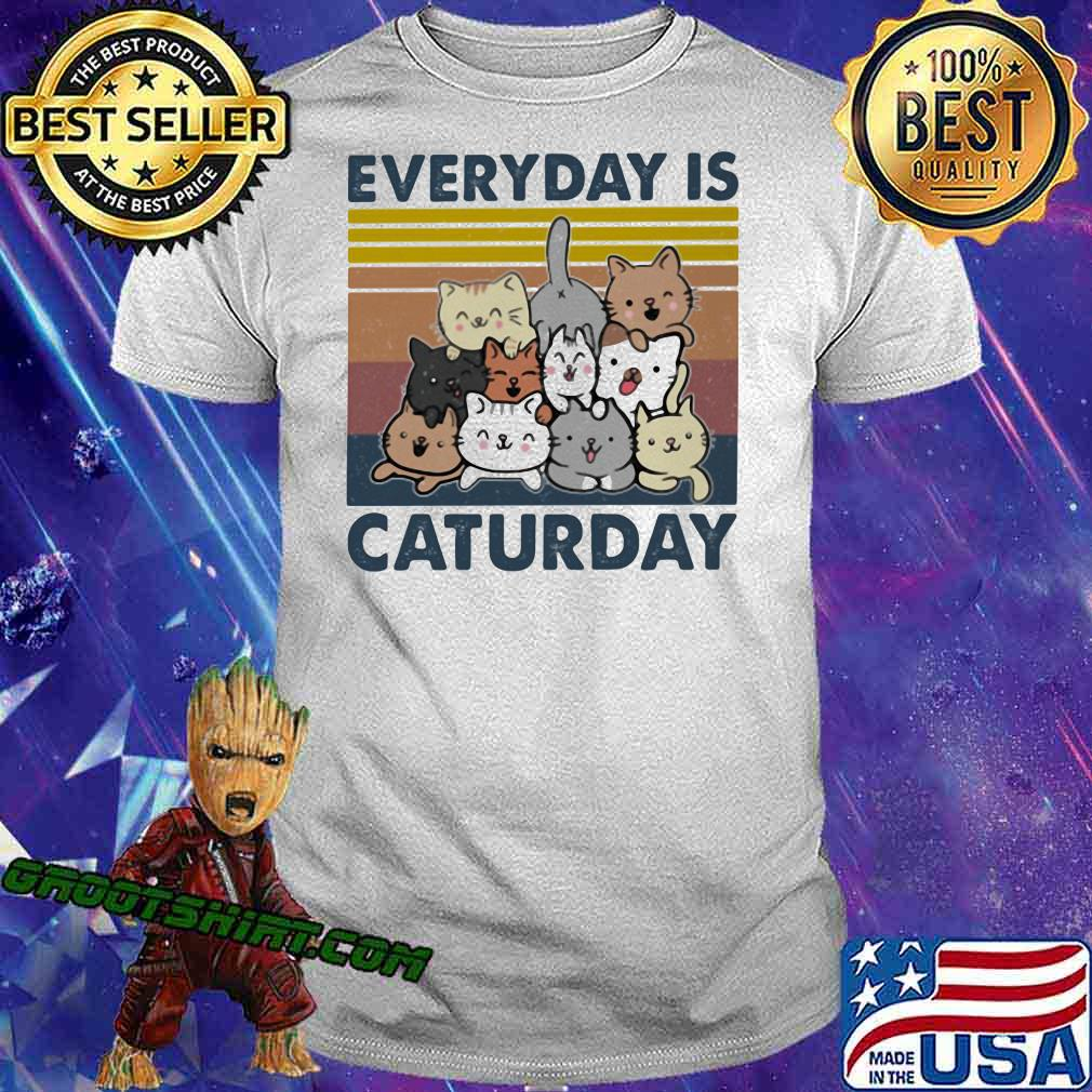 Everyday Is Caturday Vintage Shirt