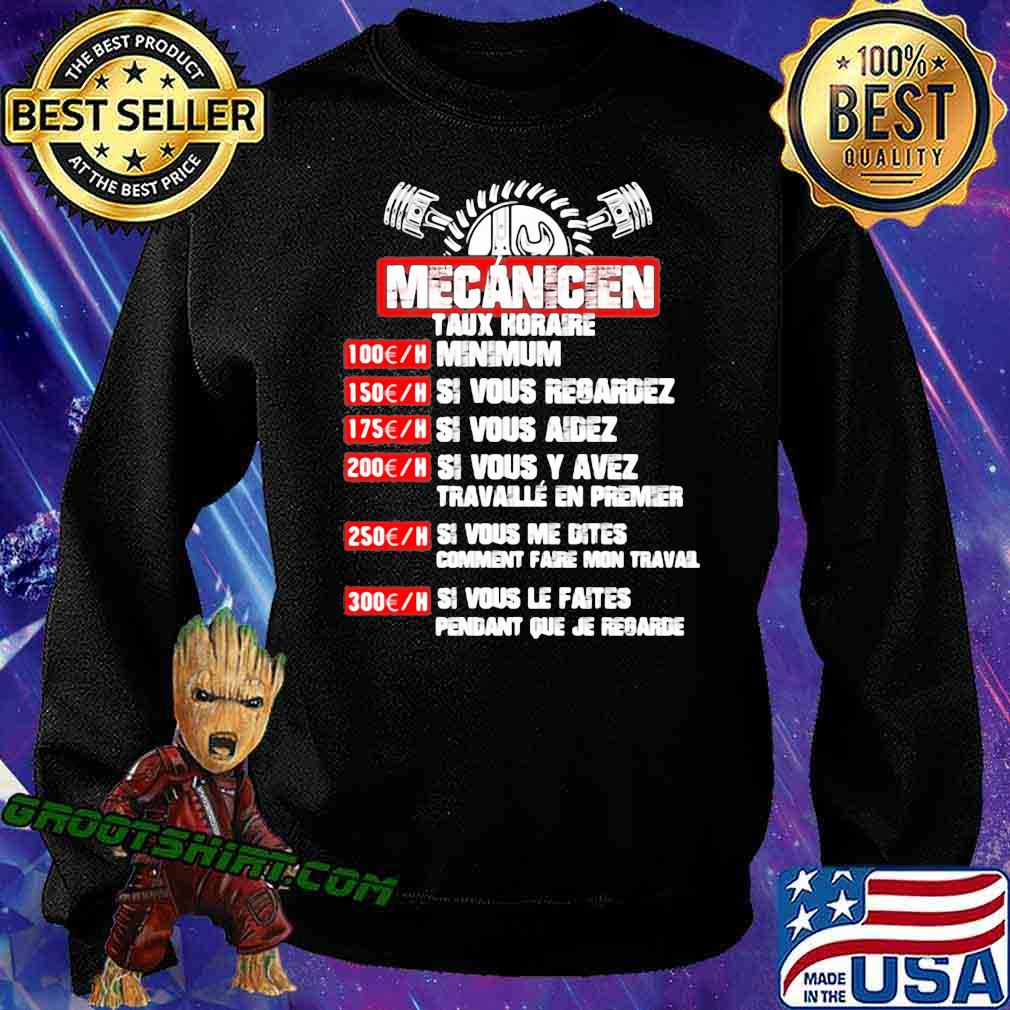 Mecanicien Taux Koraire Minium Shirt Sweatshirt