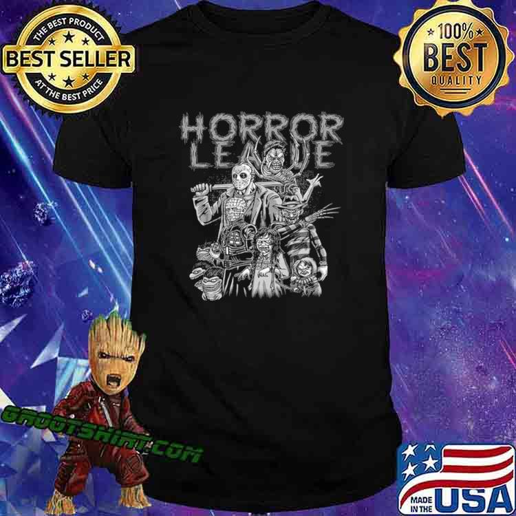 Horror league character shirt