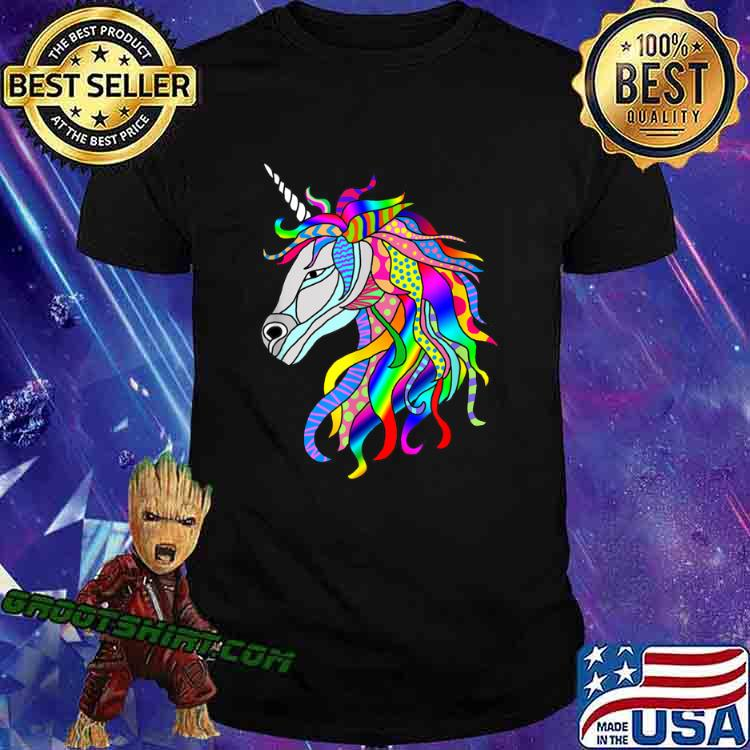 Multicolor Fantastic Unicorn Shirt