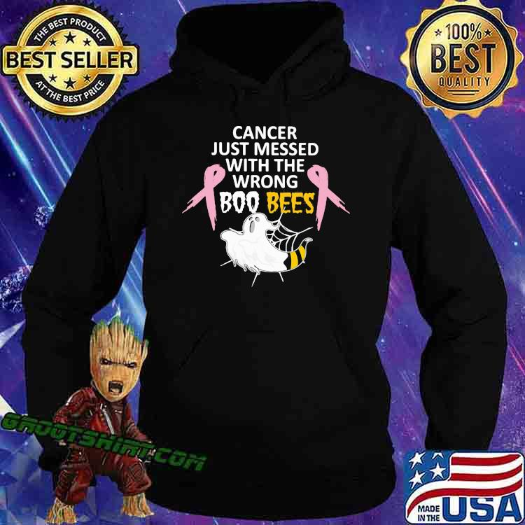 Cancer Just Messed With The Wrong Boo Bees Shirt Hoodie