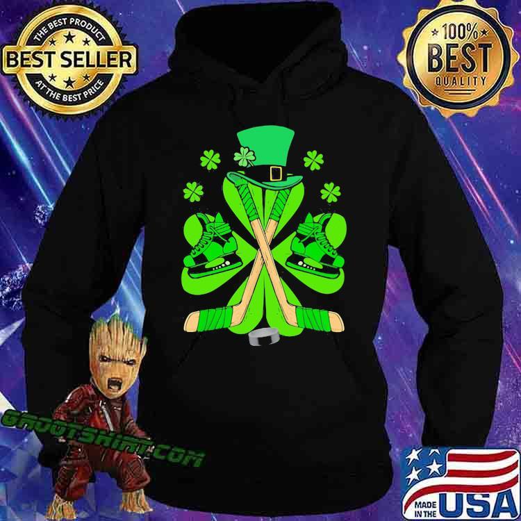 Hockey Hat Leprechaun Irish Shirt Hoodie