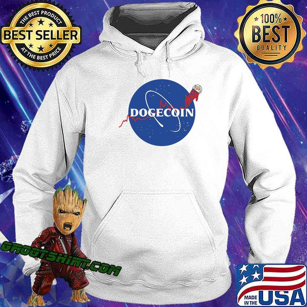 Official Dogecoin Nasa Shirt Hoodie