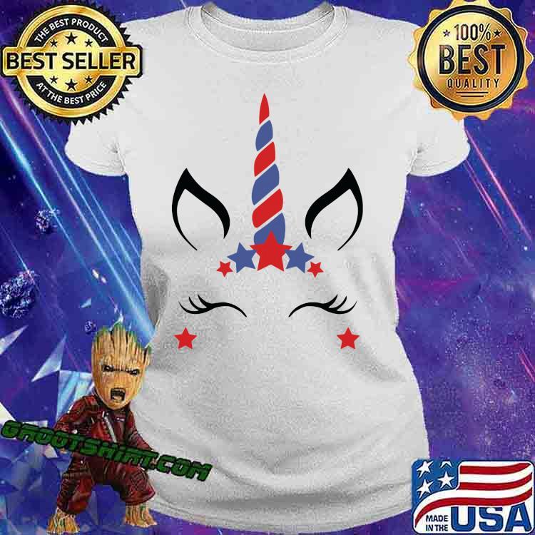 Unicorn Fourth Of July Shirt Ladiestee