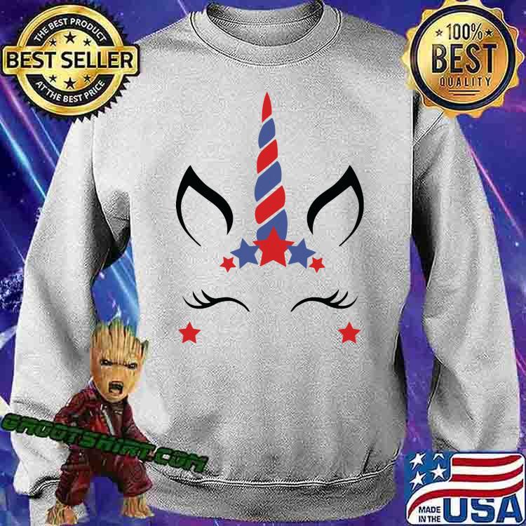 Unicorn Fourth Of July Shirt Sweatshirt