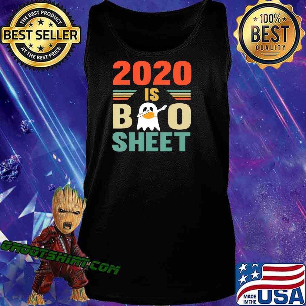 2020 Is Boo Sheet Cute Ghot Dabbing Funny Halloween T-Shirt Tank Top