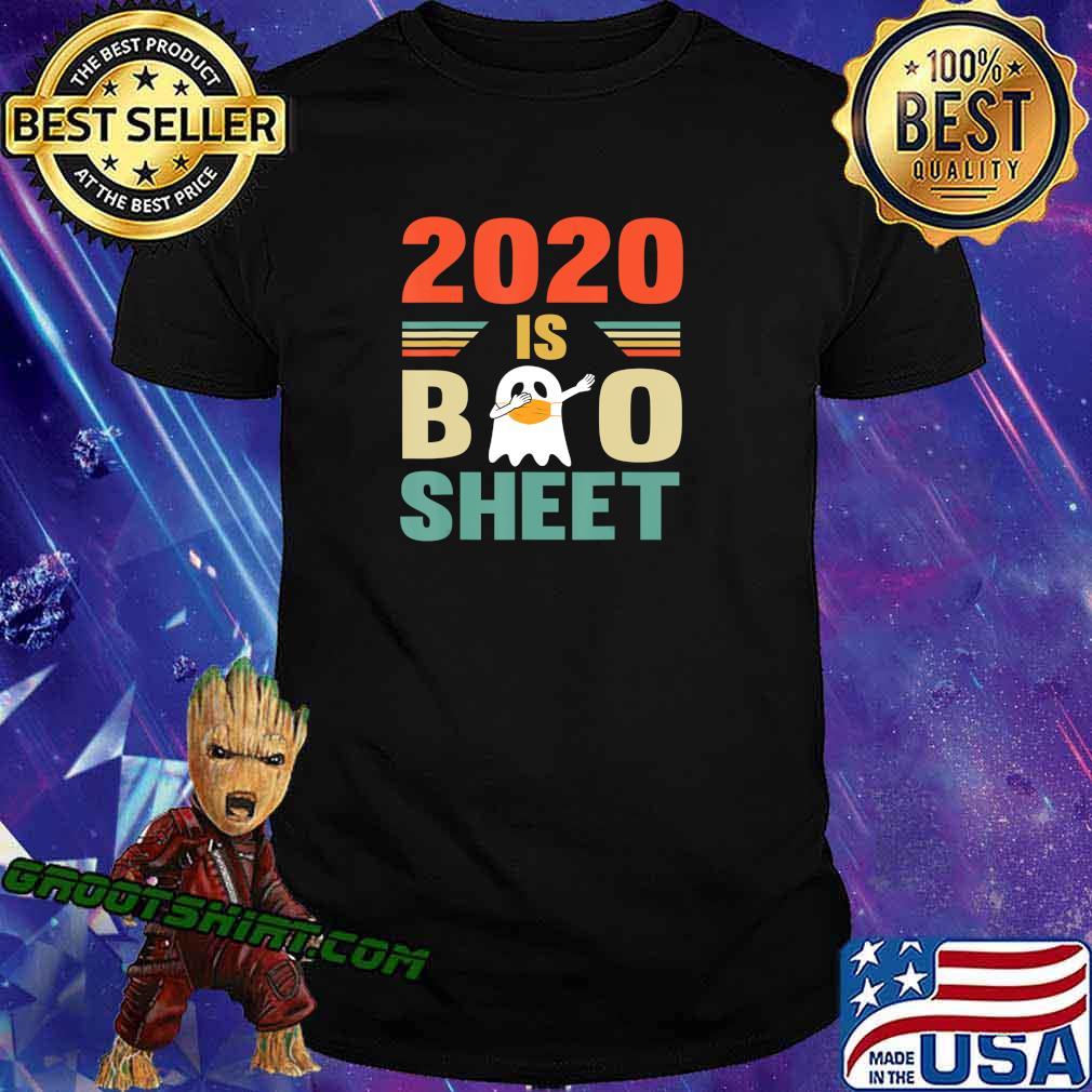 2020 Is Boo Sheet Cute Ghot Dabbing Funny Halloween T-Shirt