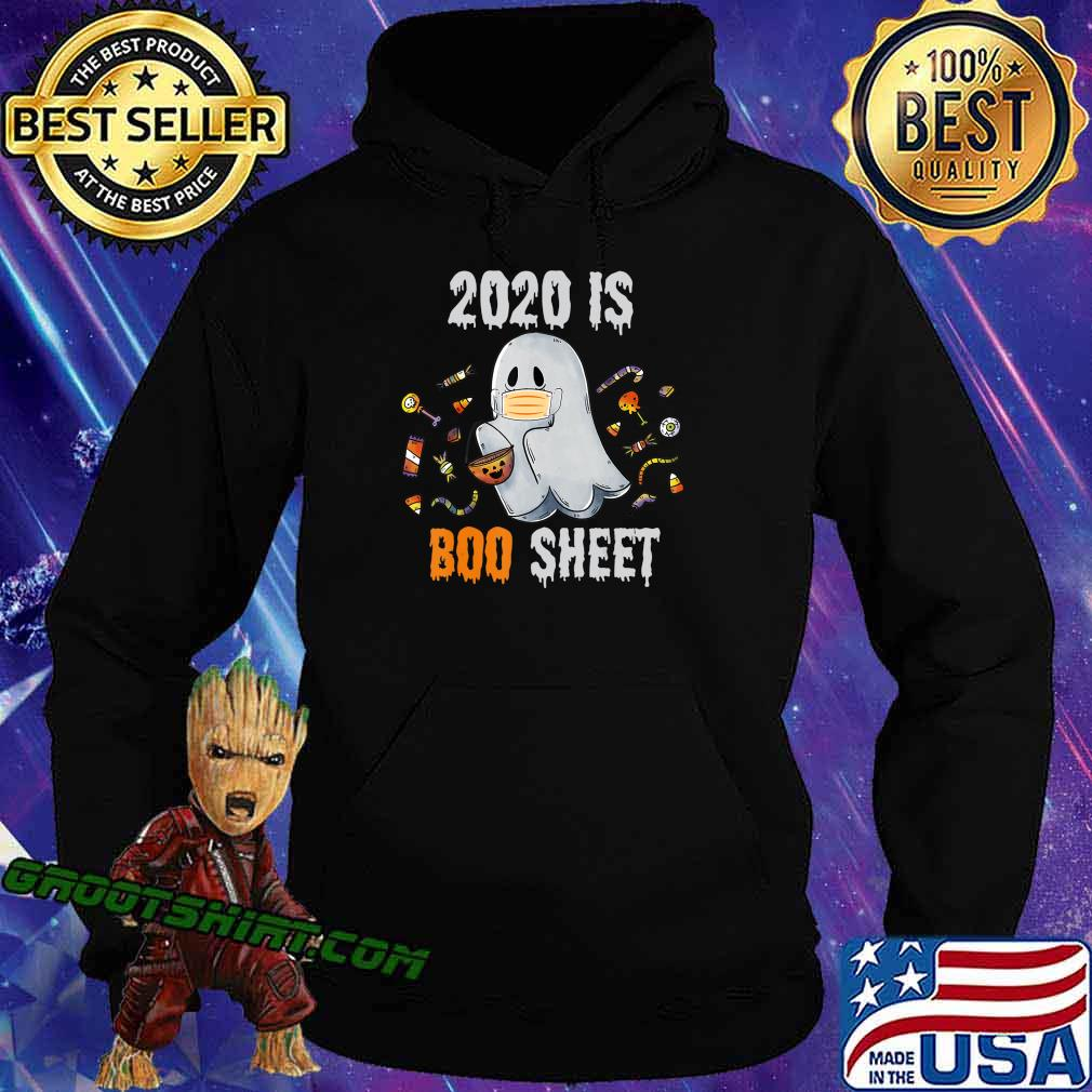 2020 is boo sheet shirt Ghost and Candy Funny Halloween gift T-Shirt Hoodie