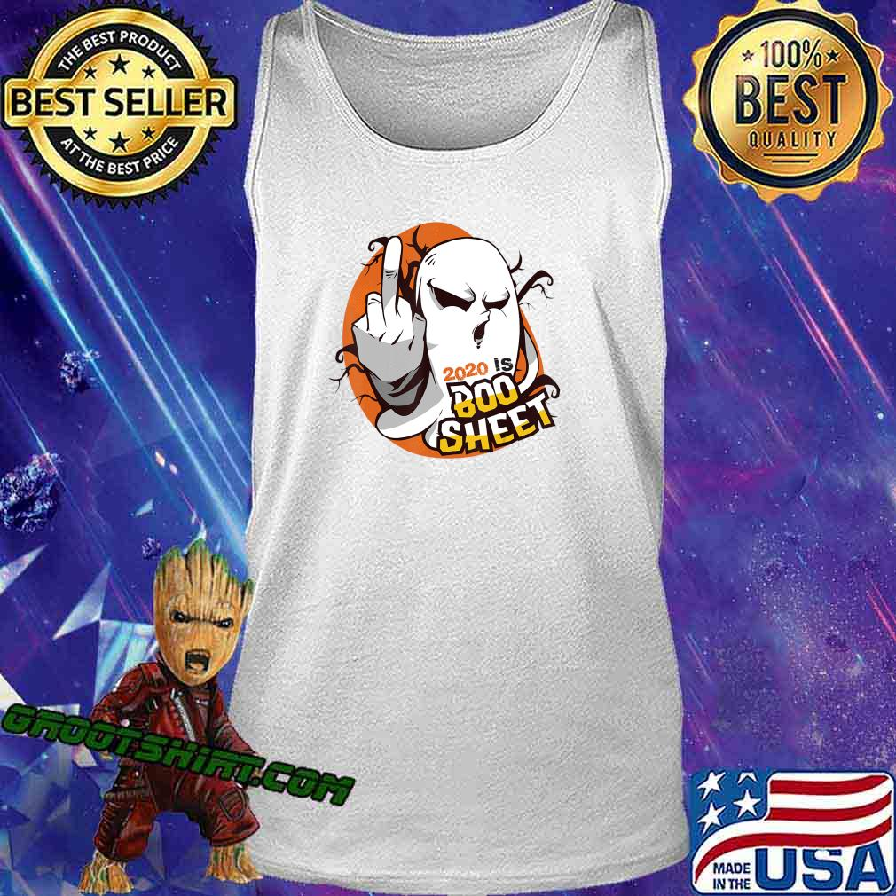 2020 Is Boo Sheet Tee Funny Halloween Ghost Gift Custome T-Shirt Tank Top