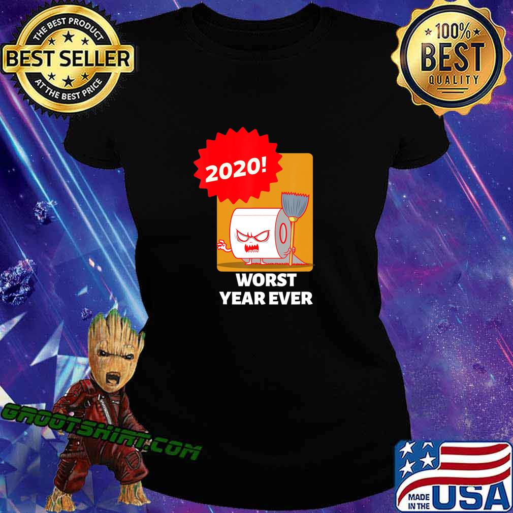 2020 WORST YEAR EVER COLORFUL GRAPHIC TEE T-Shirt Ladiestee
