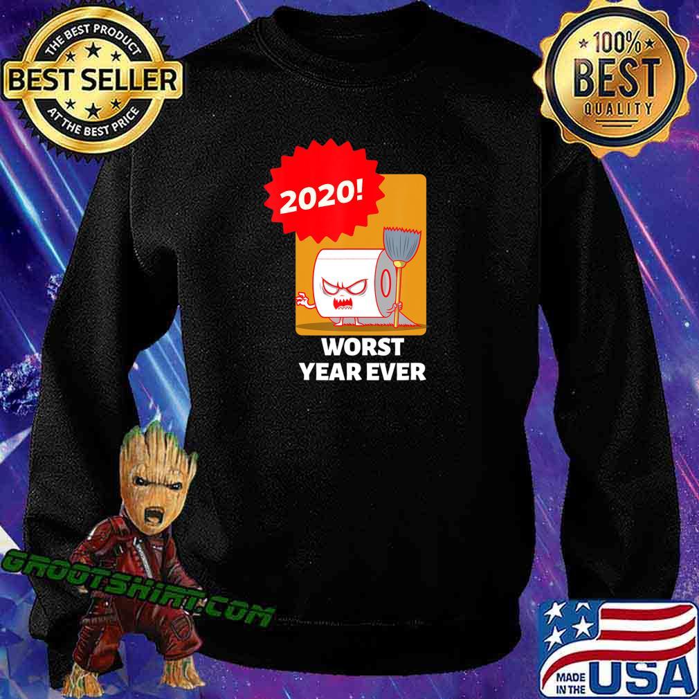 2020 WORST YEAR EVER COLORFUL GRAPHIC TEE T-Shirt Sweatshirt