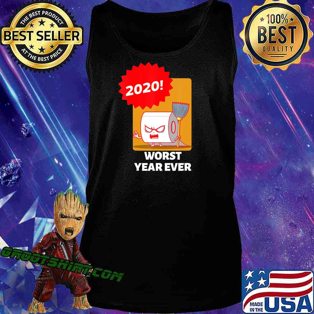 2020 WORST YEAR EVER COLORFUL GRAPHIC TEE T-Shirt Tank Top