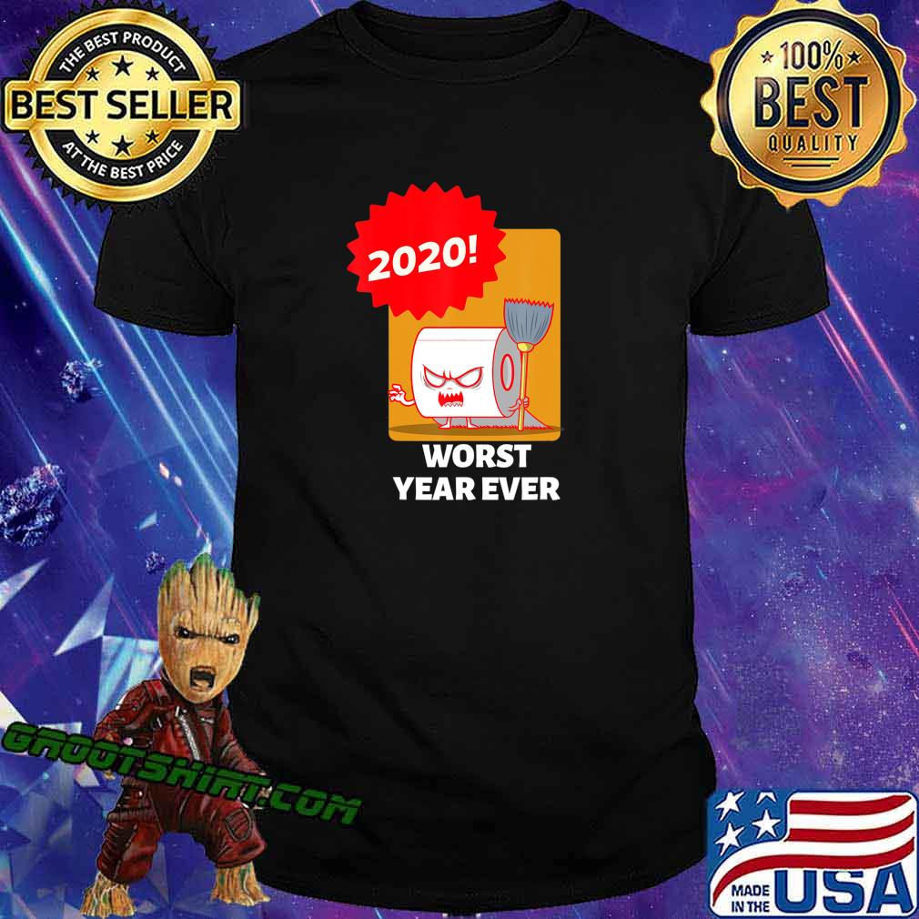 2020 WORST YEAR EVER COLORFUL GRAPHIC TEE T-Shirt