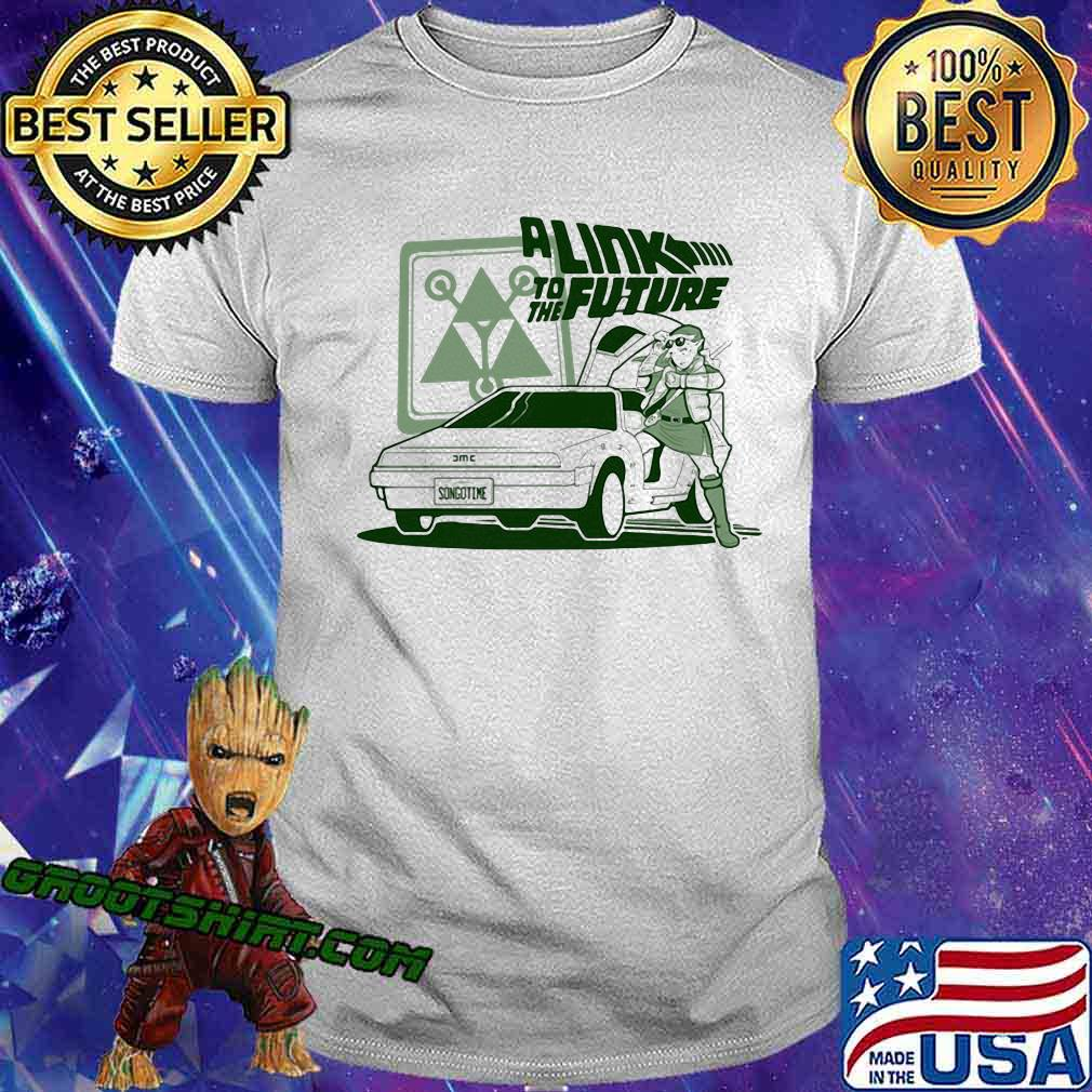 A link to the future songotime car shirt