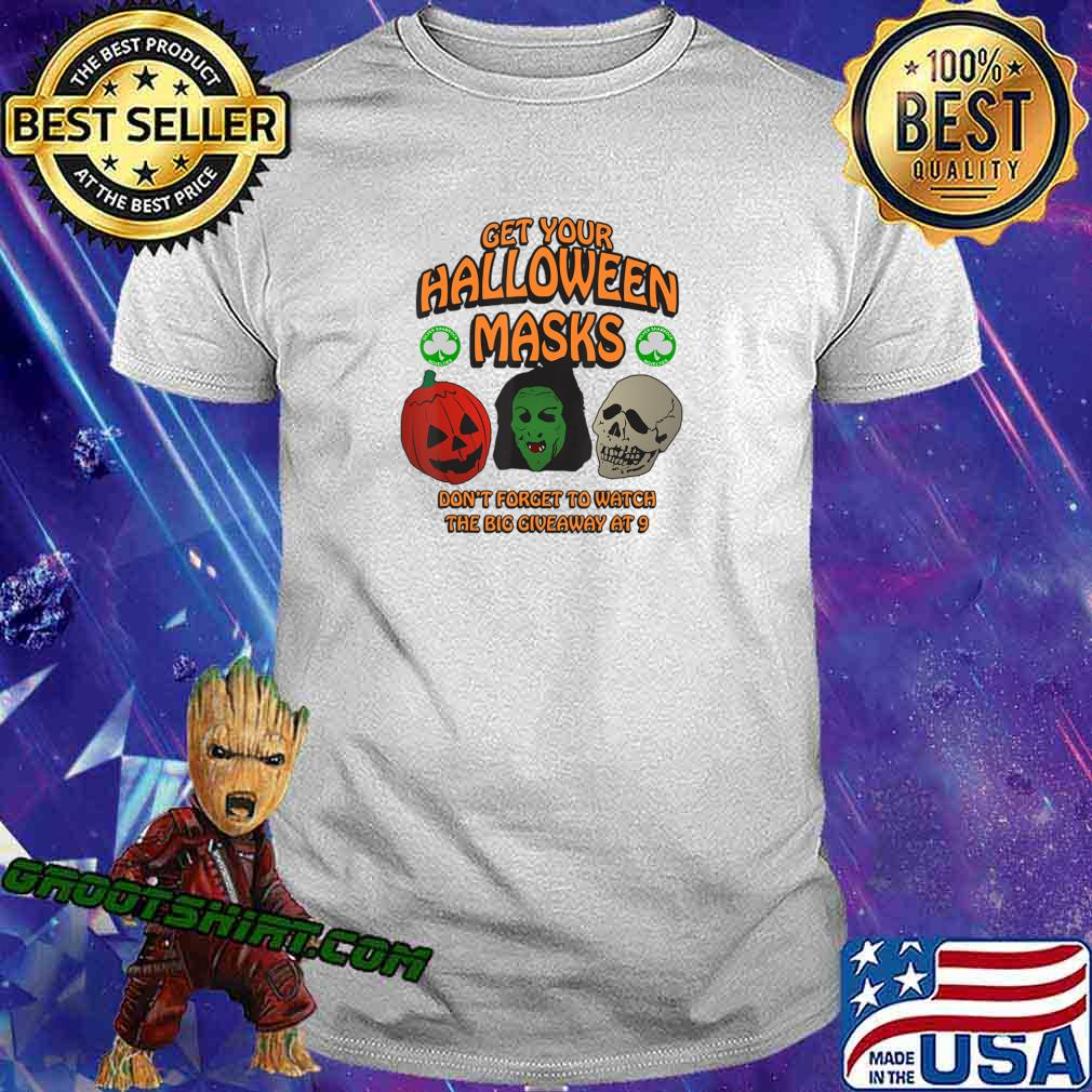 Adult Jackolantern Shirt Jackolantern Face Mask Jackolanter T-Shirt