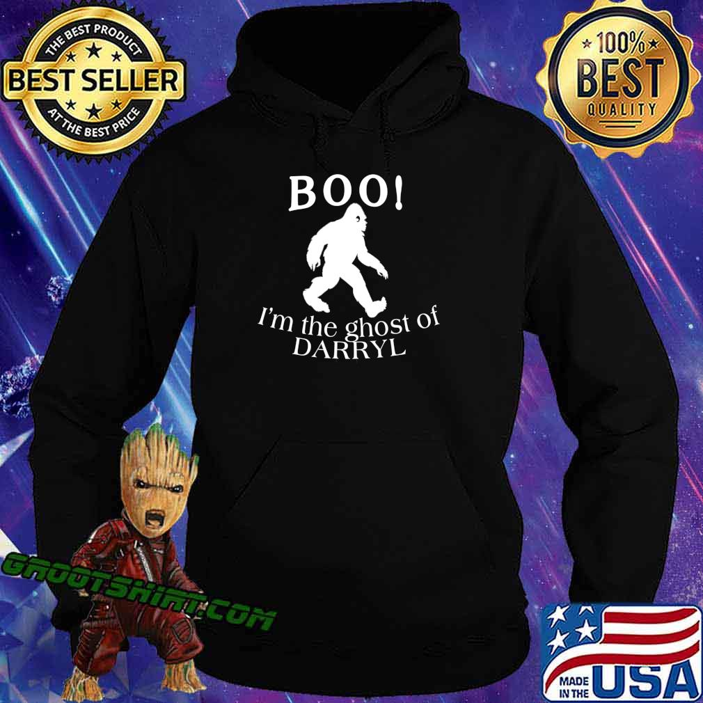 BOO I'm the Ghost of Darryl Funny Halloween Bigfoot T-Shirt Hoodie