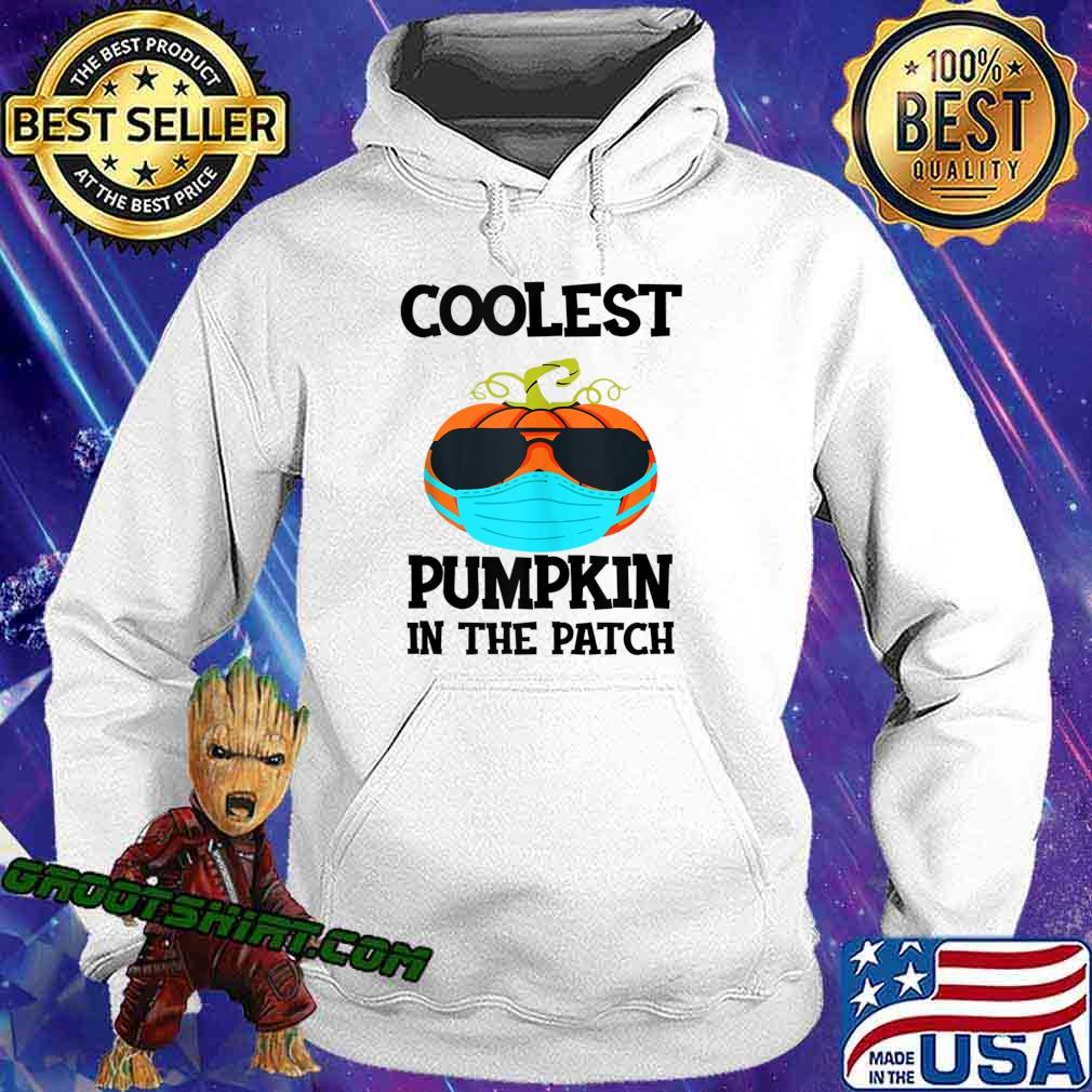 Coolest Pumpkin In The Patch Halloween Boys Girls Quarantine s Hoodie