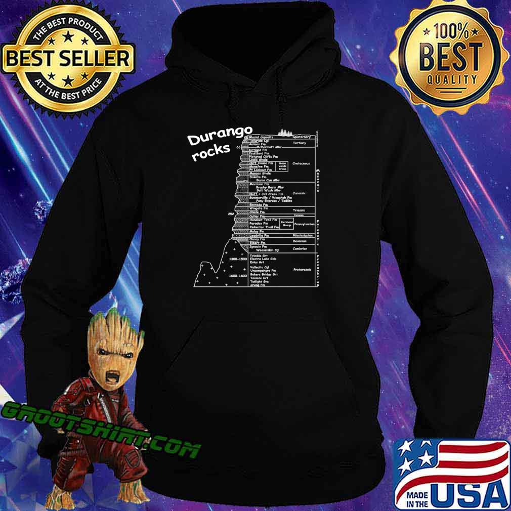 Durango Rocks! Geology. Premium T-Shirt Hoodie