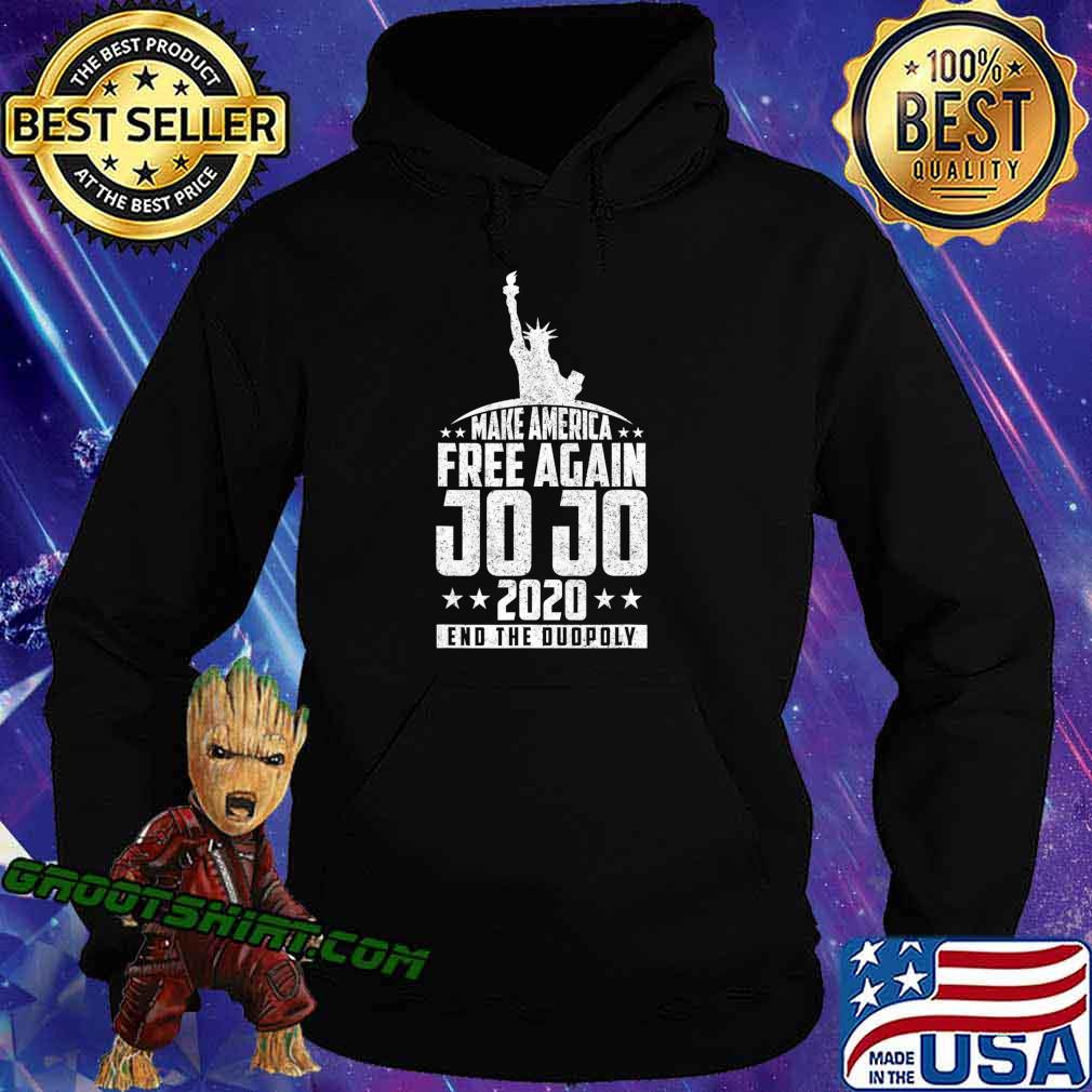 End The Duopoly Jo Jo 2020 Vote For President 2020 Election T-Shirt Hoodie