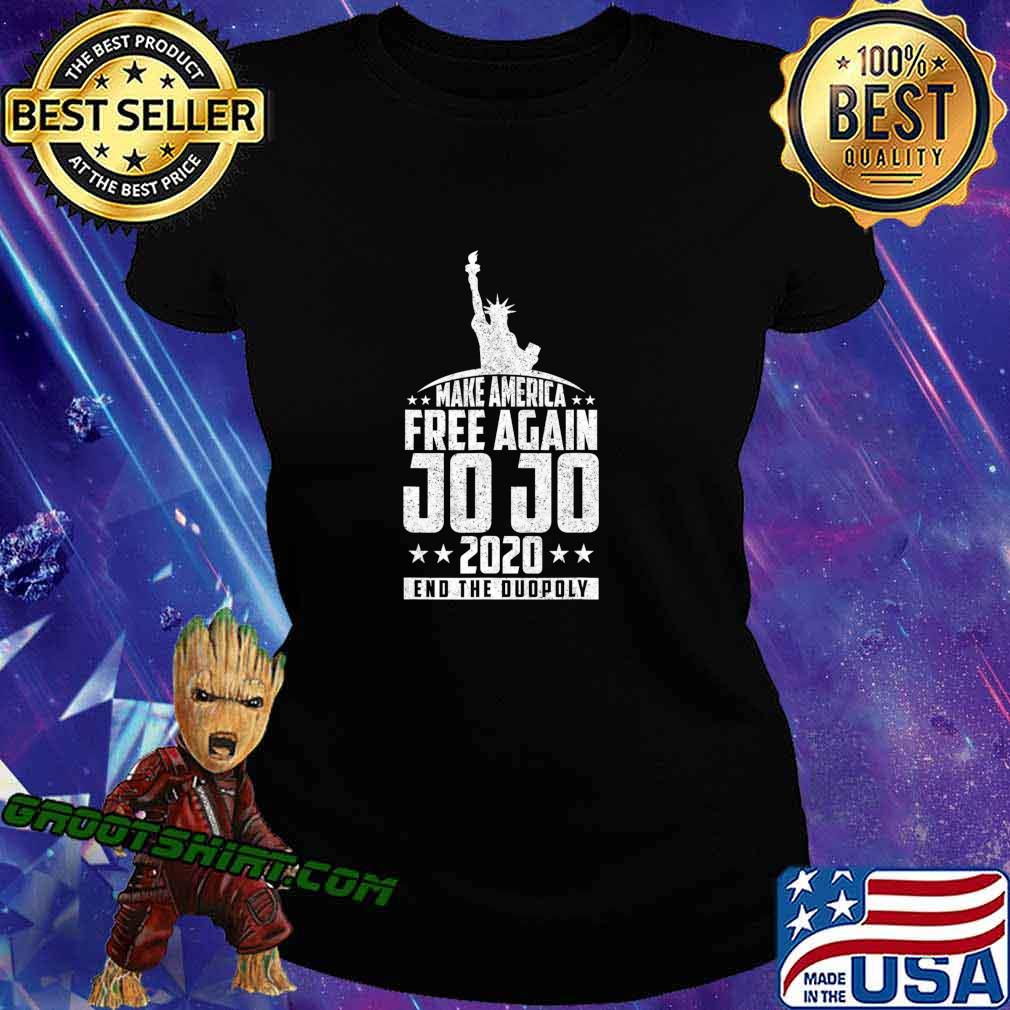 End The Duopoly Jo Jo 2020 Vote For President 2020 Election T-Shirt Ladiestee