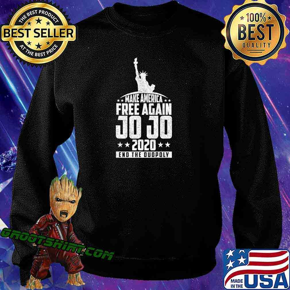 End The Duopoly Jo Jo 2020 Vote For President 2020 Election T-Shirt Sweatshirt