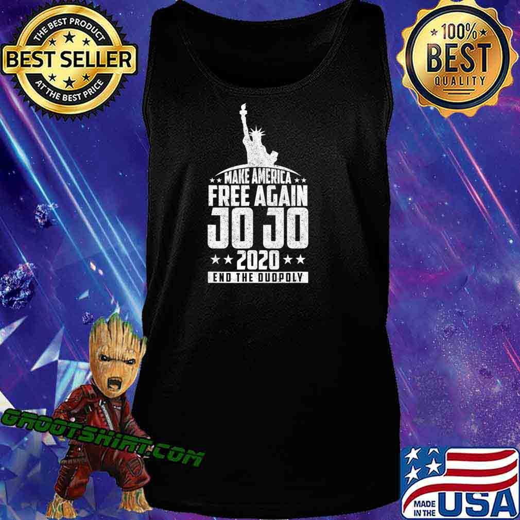 End The Duopoly Jo Jo 2020 Vote For President 2020 Election T-Shirt Tank Top