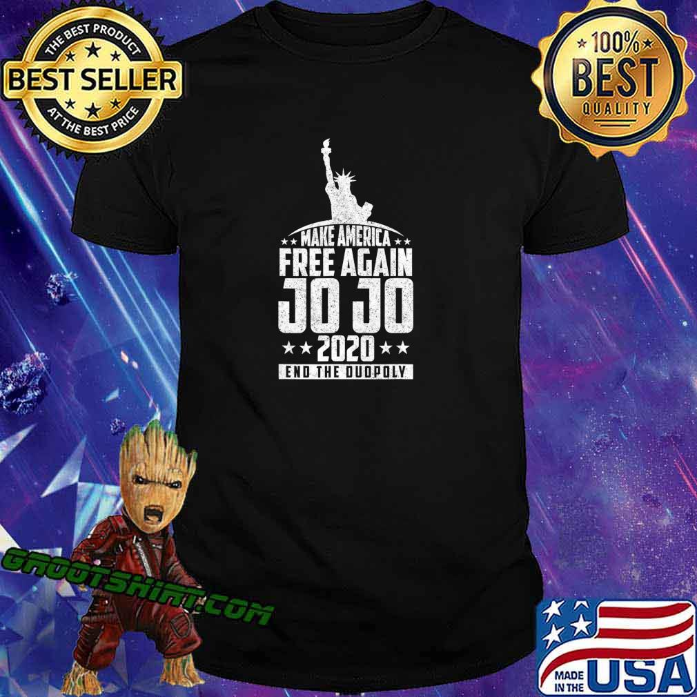 End The Duopoly Jo Jo 2020 Vote For President 2020 Election T-Shirt