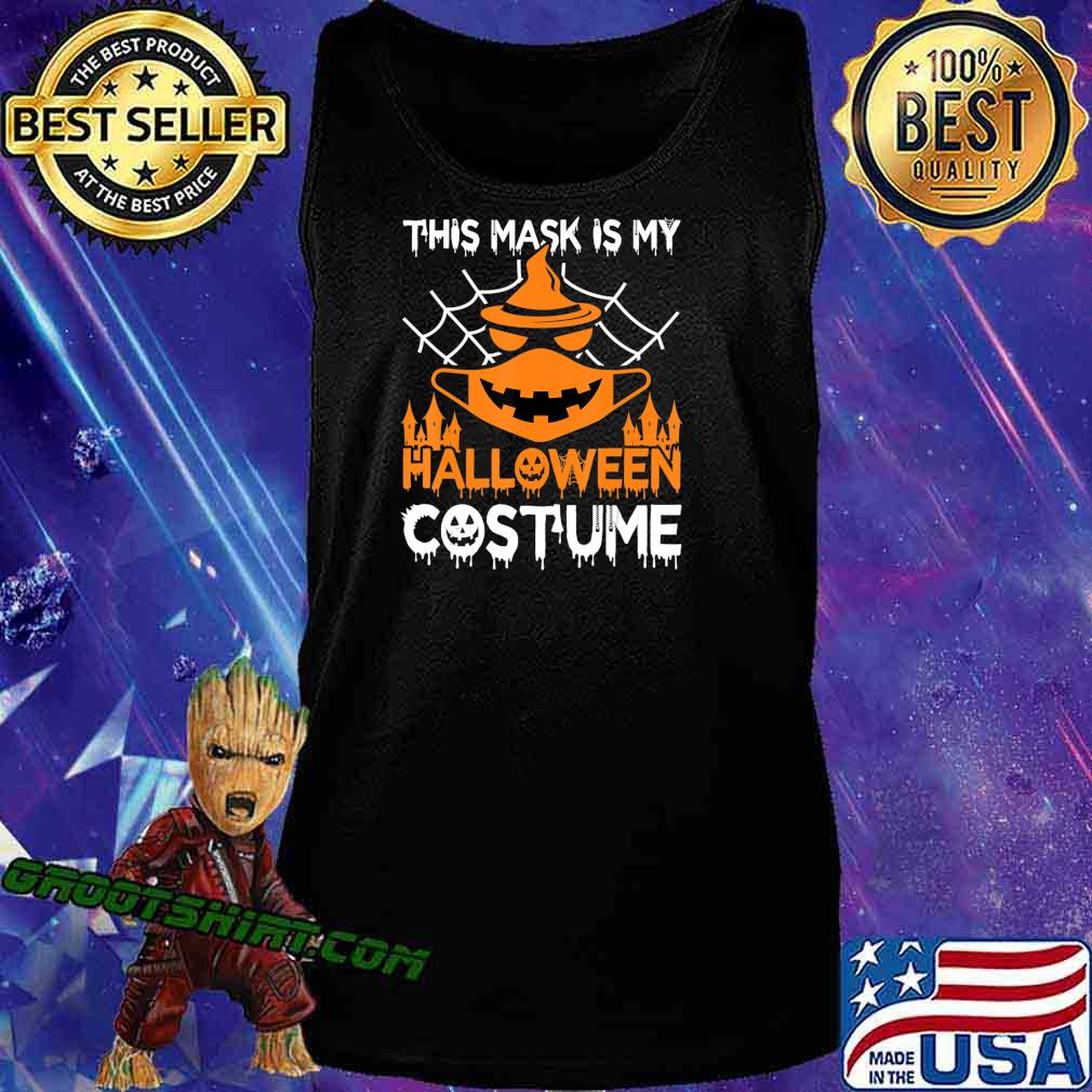 Funny Halloween Witch Jack O Lantern wearing a mask 2020 T-Shirt Tank Top
