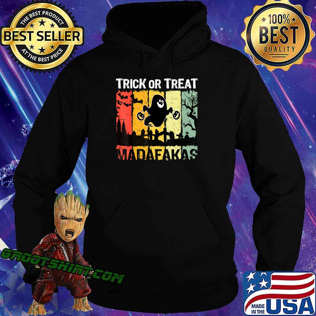 Halloween Costume Ghosts Gift Crazy Horror Present Men Woman T-Shirt Hoodie