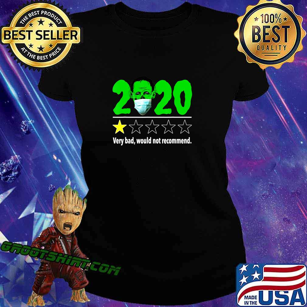 Halloween Funny 2020 Review - Zombie with Mask Halloween T-Shirt Ladiestee