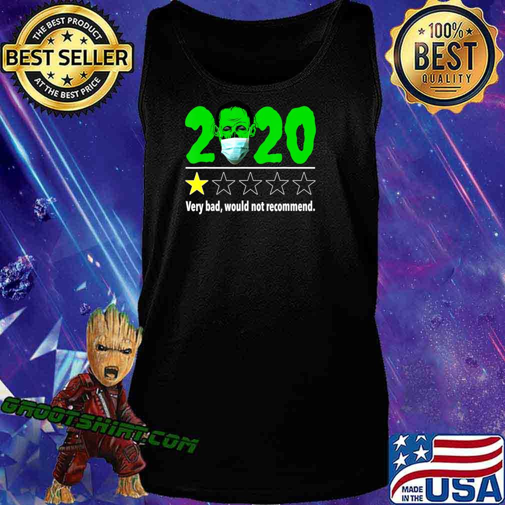 Halloween Funny 2020 Review - Zombie with Mask Halloween T-Shirt Tank Top