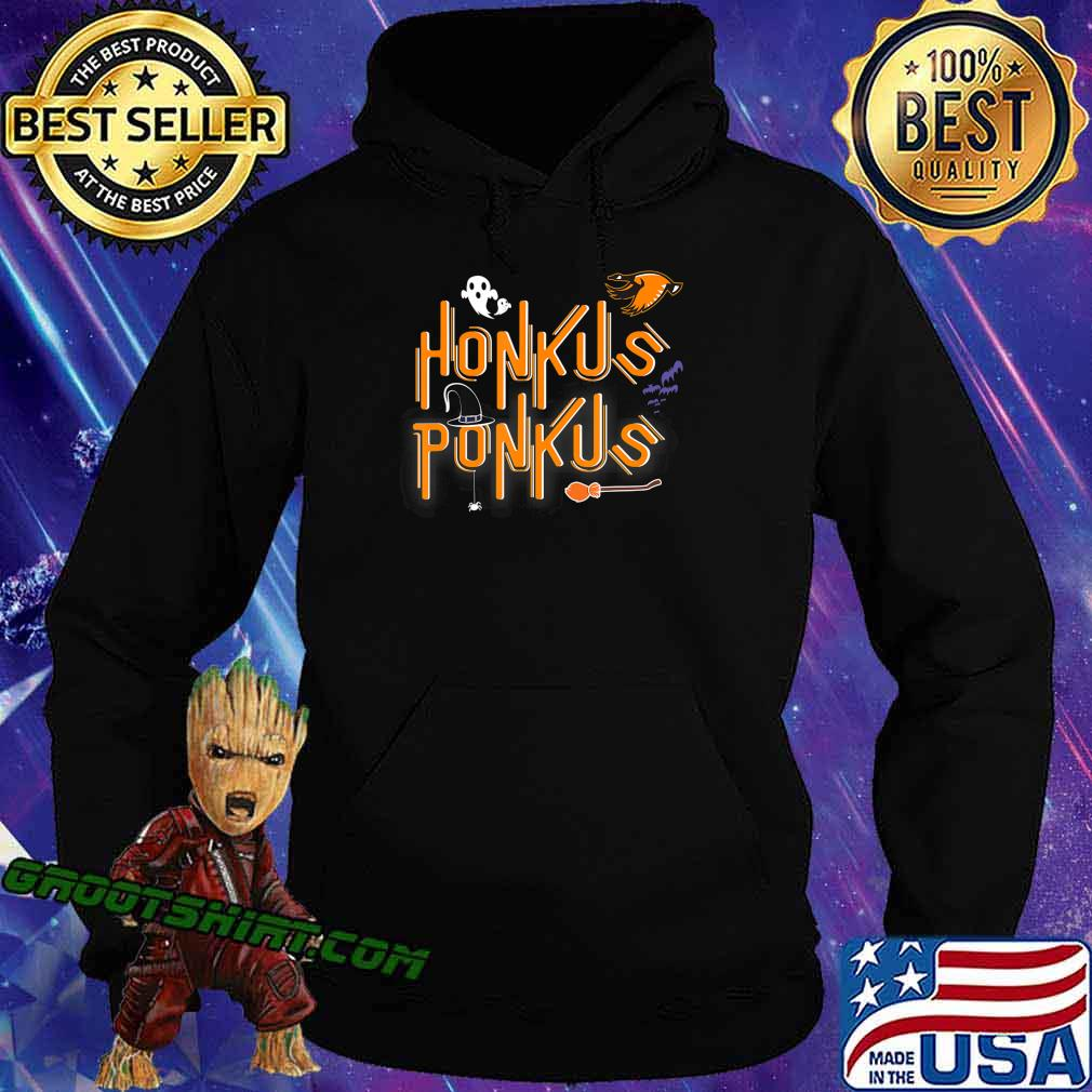 Honkus Ponkus Shirt Goose Halloween costume witch hat tshirt T-Shirt Hoodie
