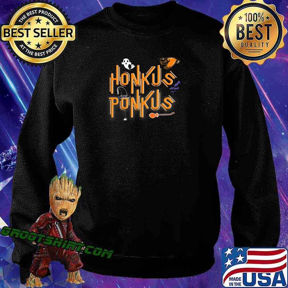 Honkus Ponkus Shirt Goose Halloween costume witch hat tshirt T-Shirt Sweatshirt