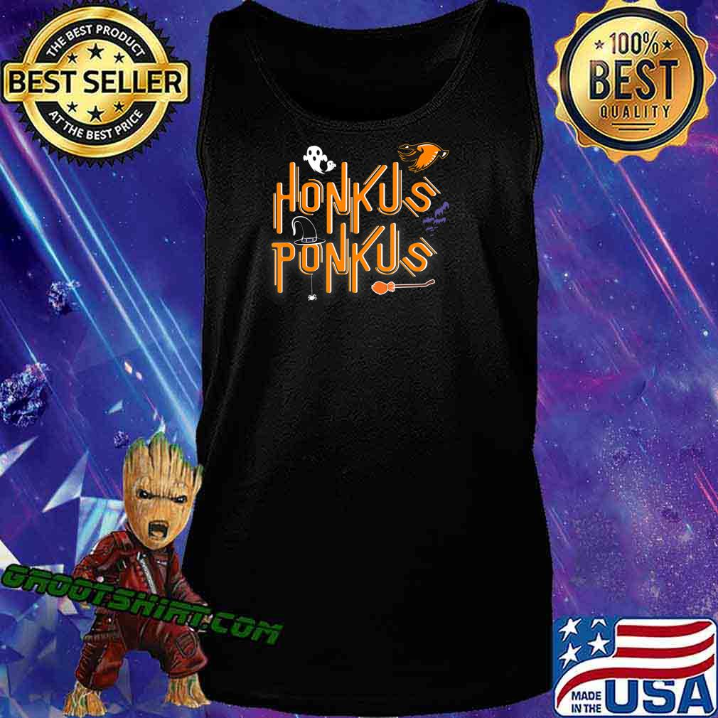 Honkus Ponkus Shirt Goose Halloween costume witch hat tshirt T-Shirt Tank Top