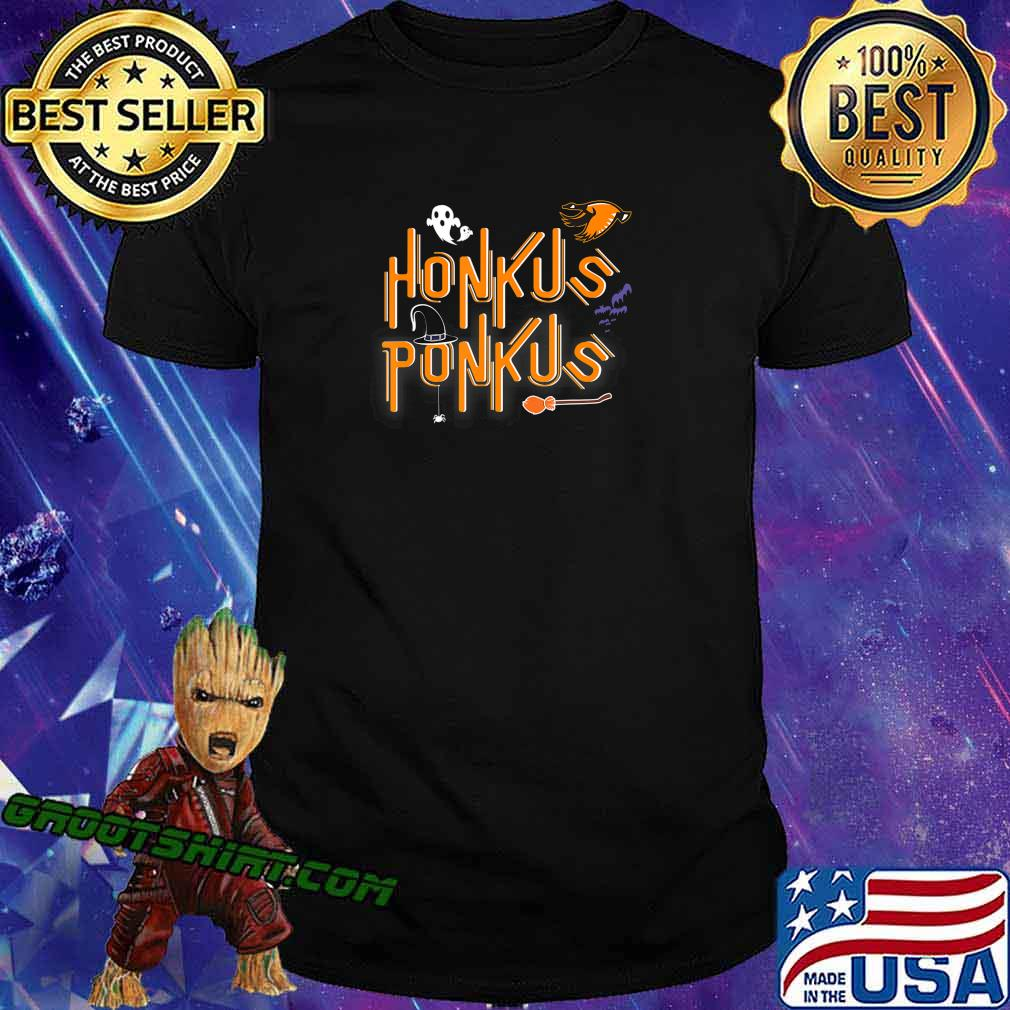 Honkus Ponkus Shirt Goose Halloween costume witch hat tshirt T-Shirt