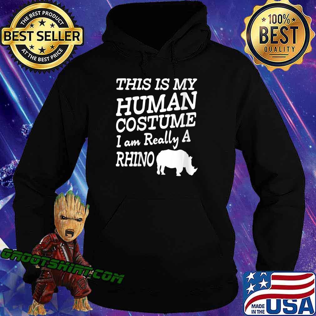 Human Costume - Chubby Rhino Unicorns Halloween Apparel Shirt Hoodie