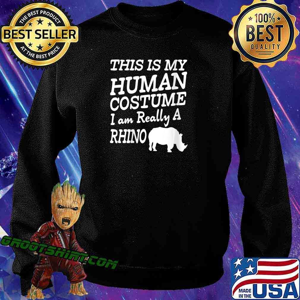 Human Costume - Chubby Rhino Unicorns Halloween Apparel Shirt Sweatshirt