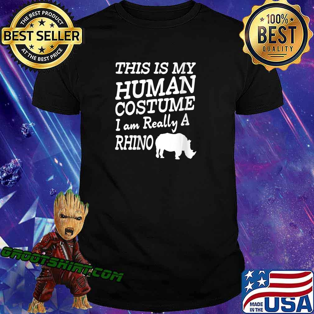 Human Costume - Chubby Rhino Unicorns Halloween Apparel Shirt