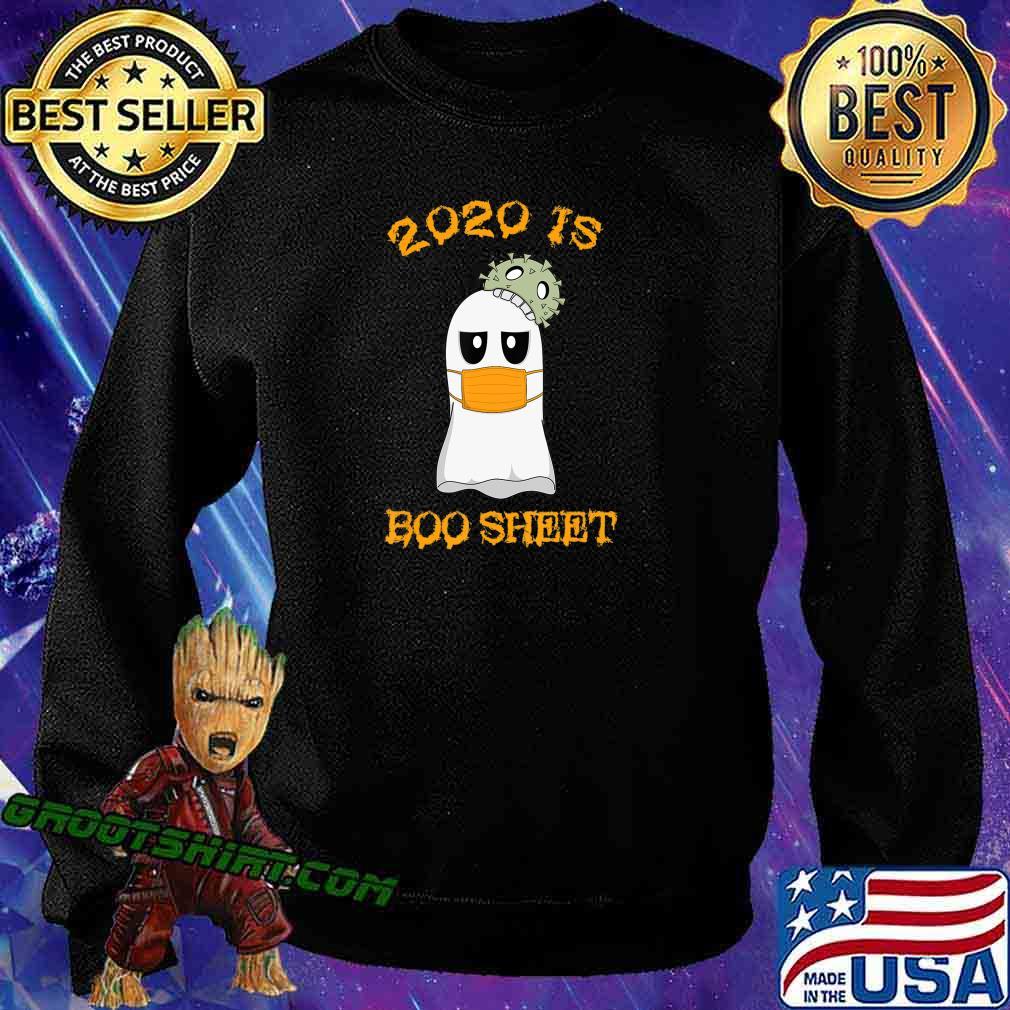 Kawaii Ghost in Mask 2020 is Boo Sheet Halloween T-Shirt Sweatshirt