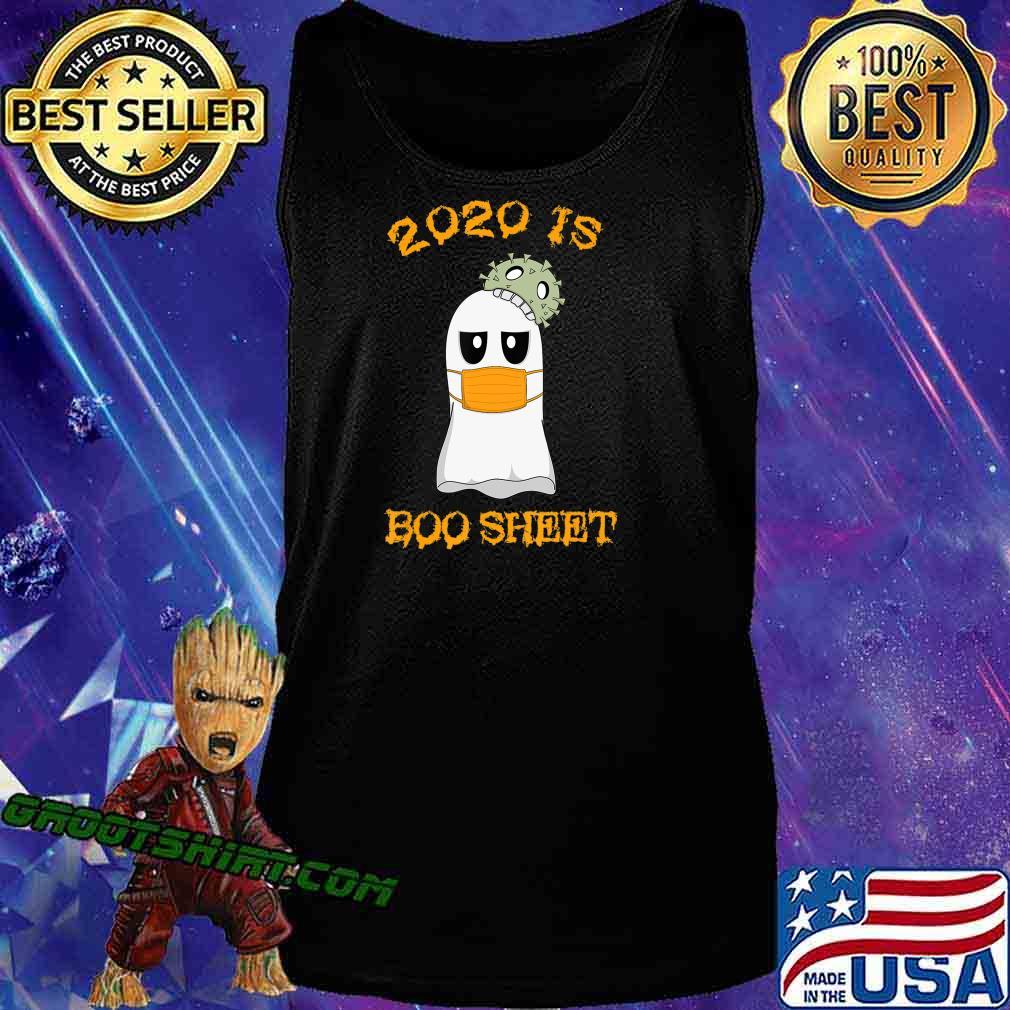 Kawaii Ghost in Mask 2020 is Boo Sheet Halloween T-Shirt Tank Top