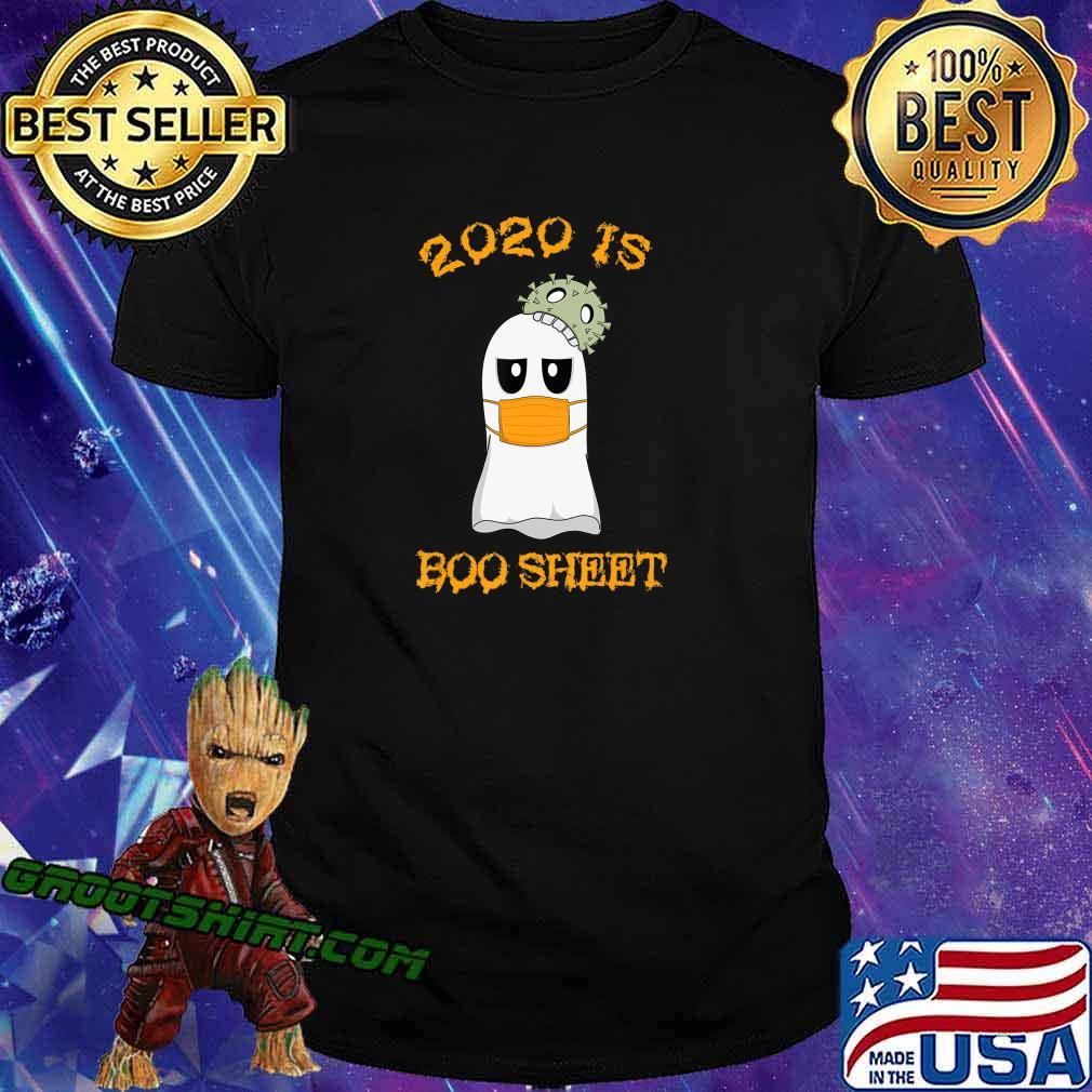 Kawaii Ghost in Mask 2020 is Boo Sheet Halloween T-Shirt