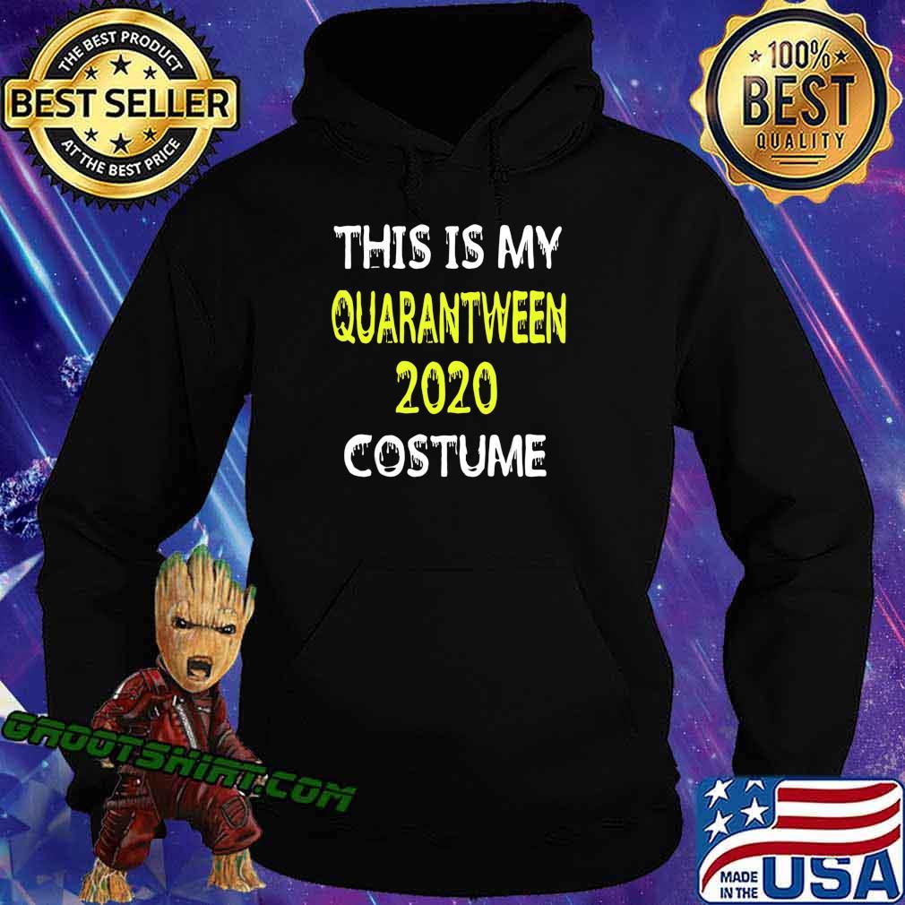 LOCKDOWN JOKE QUARANTINEOWEEN COSTUME HALLOWEEN 2020 T-Shirt Hoodie