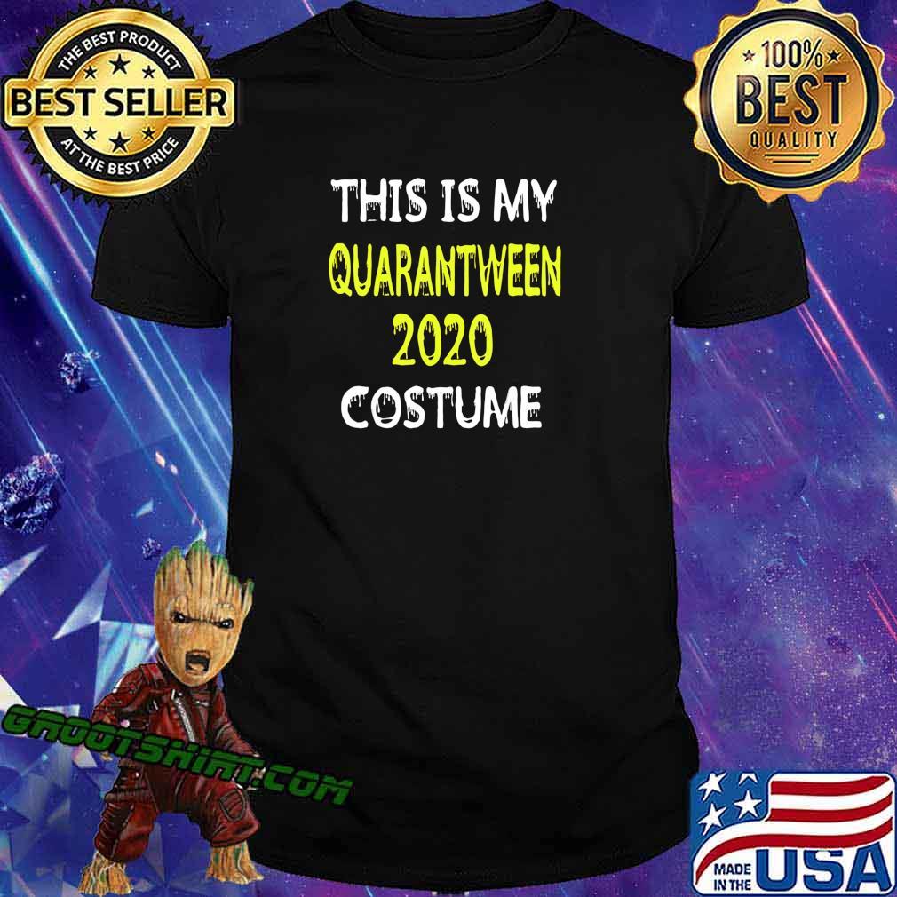 LOCKDOWN JOKE QUARANTINEOWEEN COSTUME HALLOWEEN 2020 T-Shirt