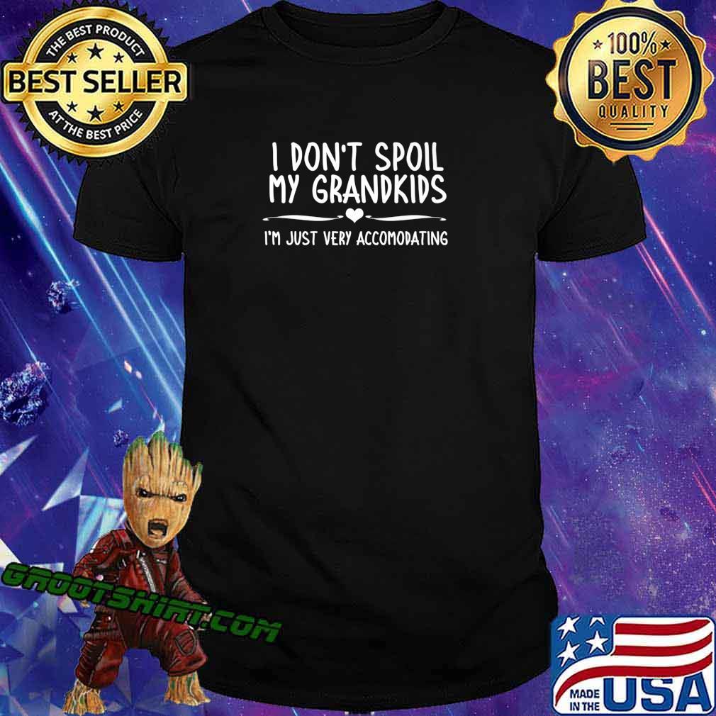 Mens Grandma Grandpa Grandparents Gift I Dont Spoil My Grandkids Premium T-Shirt