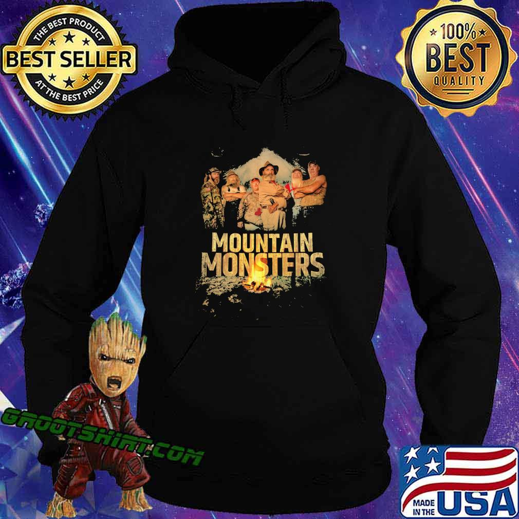 Mountain monsters fire vintage s Hoodie