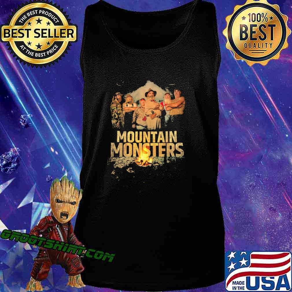 Mountain monsters fire vintage s Tank Top
