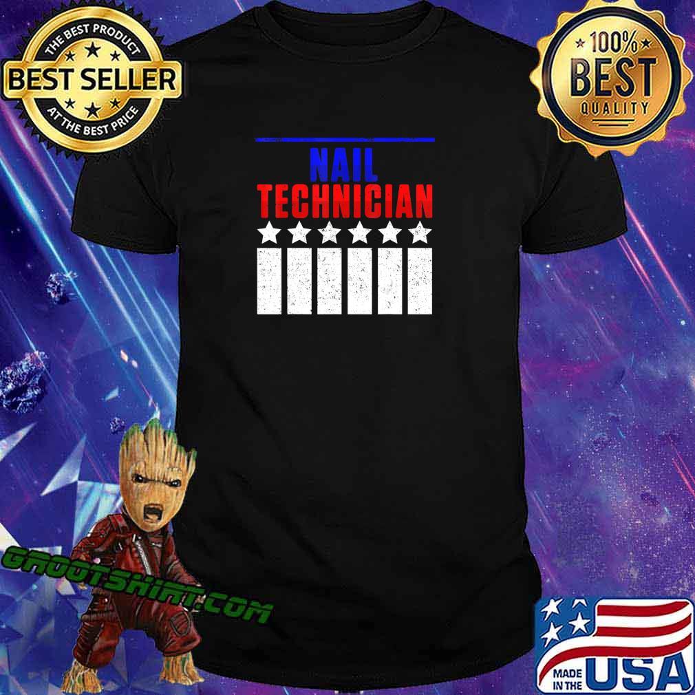 Nail Technician Support Nail Tech Artist Manicurist T-Shirt